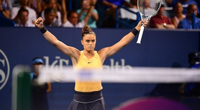 Maria Sakkari reaches Quarter Final of Cincinnati Masters 24