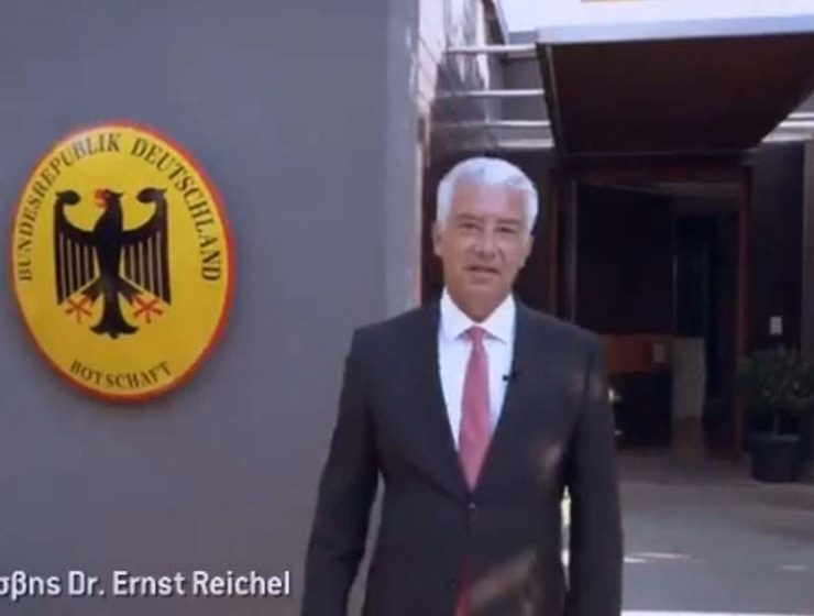 New German Ambassador goes Greek in message of unity 11