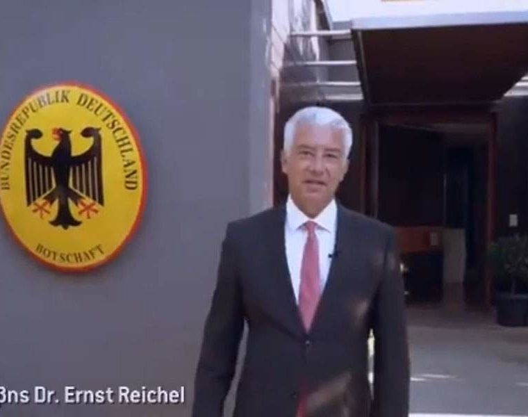 New German Ambassador goes Greek in message of unity 1