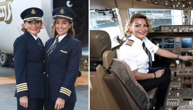 Meet Captain Martha Chatziliadou, a proud Greek pilot who flies a Boeing 777 15