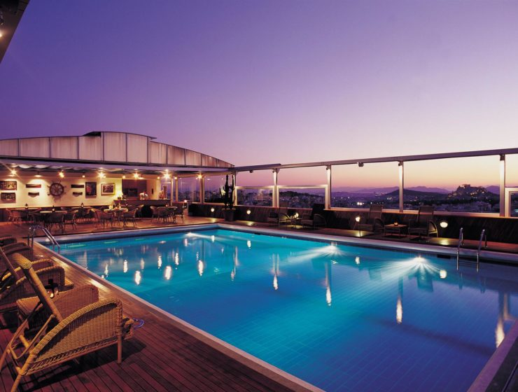 10 Best Hotel Pools in Athens 14