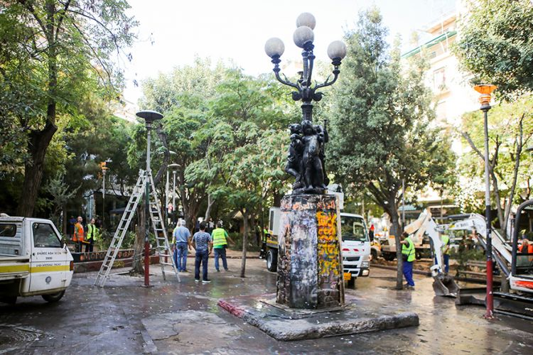 Athens Municipality begins a much needed Exarchia 'makeover'    4