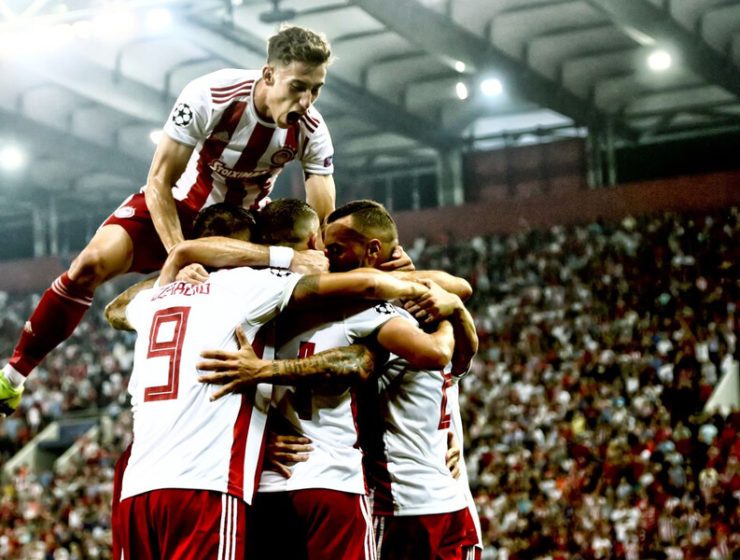 Olympiacos fight back in thrilling draw against Tottenham 9