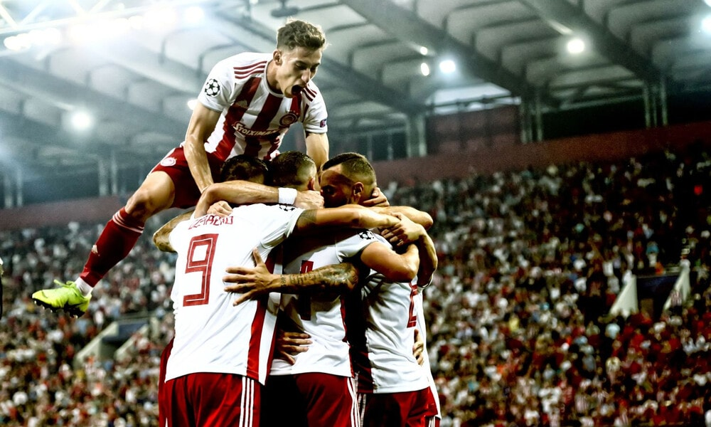 Olympiacos fight back in thrilling draw against Tottenham 2