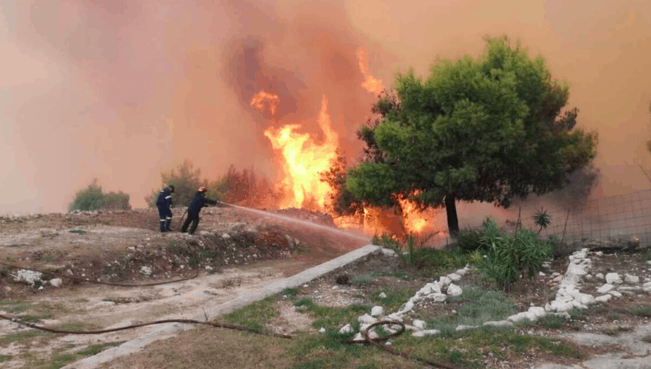 Wildfire rages through village on Zakynthos island (PICS & VIDEO) 7