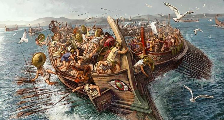 September 22, 480 BC Greece wins the Battle of Salamis 1