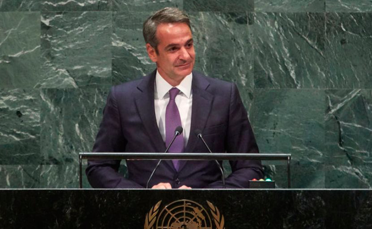 """PM Mitsotakis tells UN, """"Greece can't carry burden of migrant crisis alone"""" (VIDEO) 25"""