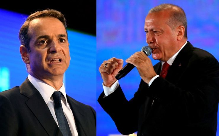 Mitsotakis and Erdogan