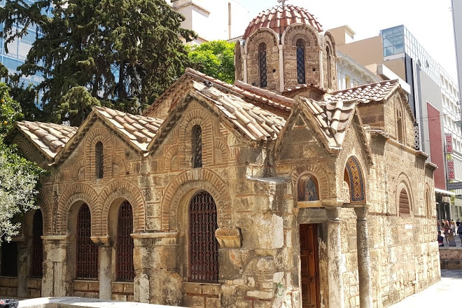 Panagia Kapnikarea, one of Athens' oldest and most historical churches 3