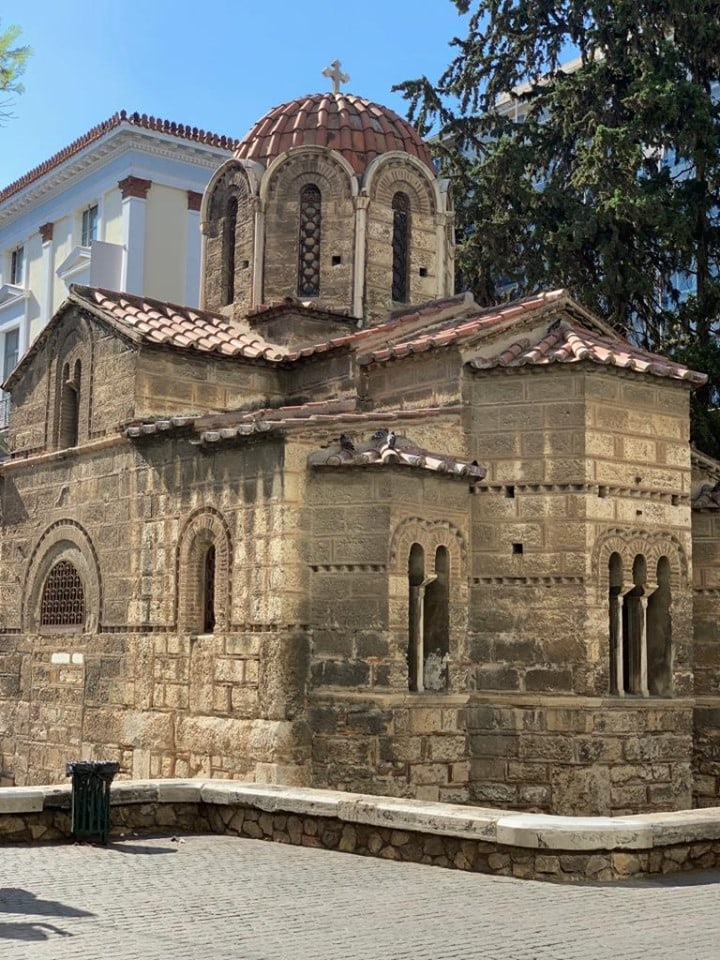 Panagia Kapnikarea, one of Athens' oldest and most historical churches 4