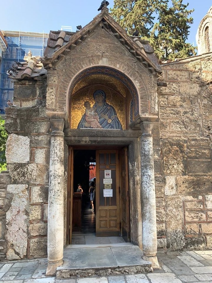 Panagia Kapnikarea, one of Athens' oldest and most historical churches 5