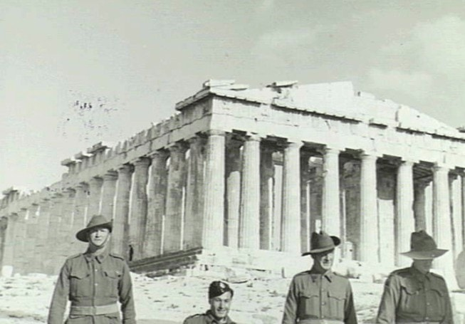 Honouring the ANZACS on 'Oxi Day' 26