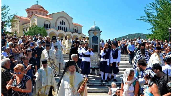 Feast Day of Agios Gerasimos, Patron Saint of Kefalonia 1