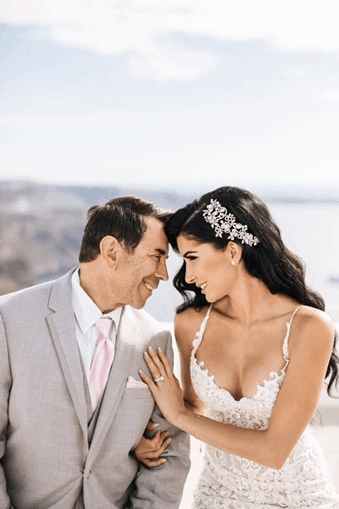 Botched's Dr Paul Nassif ties the knot with Greek American partner in Santorini 9