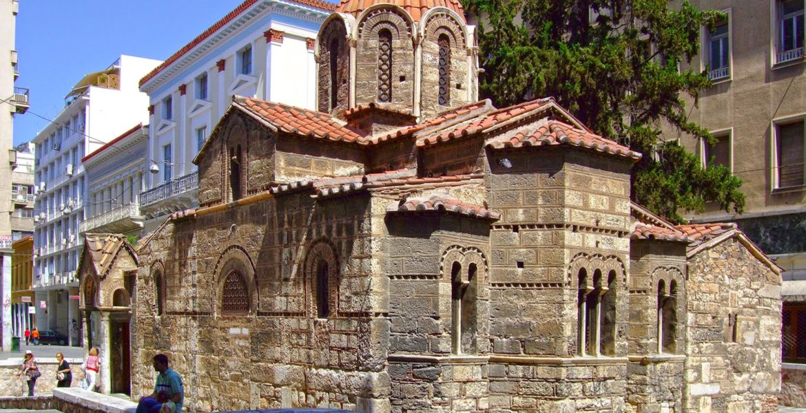 Panagia Kapnikarea, one of Athens' oldest and most historical churches 1