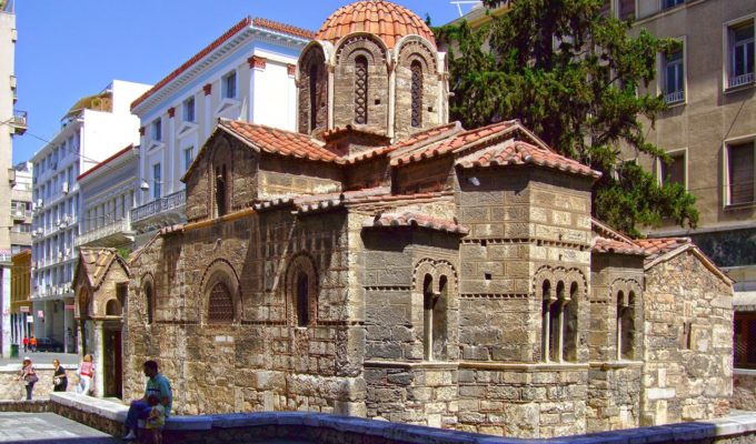 Panagia Kapnikarea, one of Athens' oldest and most historical churches 15