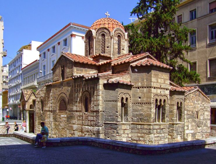 Panagia Kapnikarea, one of Athens' oldest and most historical churches 8