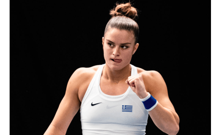 Maria Sakkari moves up in new career-high ranking 14