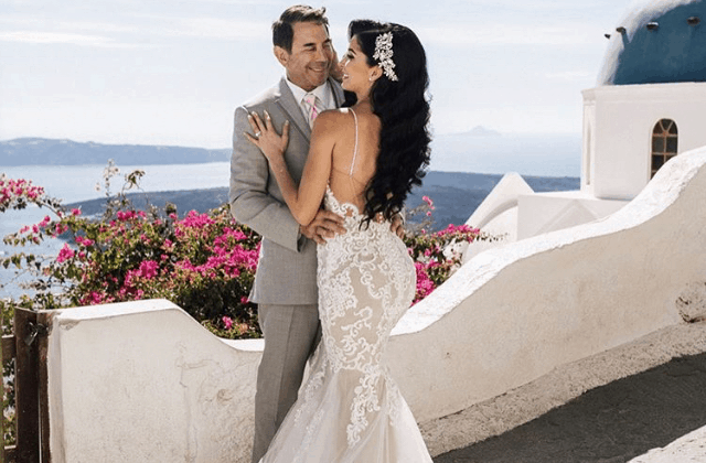 Botched's Dr Paul Nassif ties the knot with Greek American partner in Santorini 6