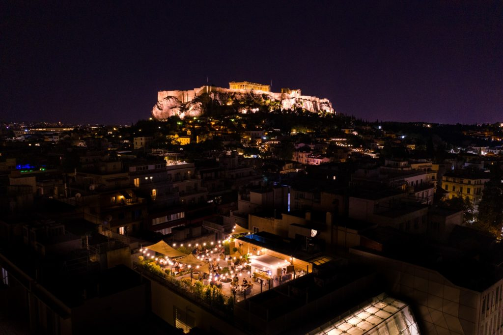 View of the Acropolis Greece