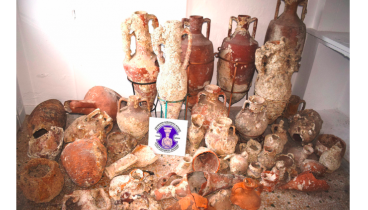 Greek police arrest 3 men in Kalymnos with possession of Ancient Greek artifacts 6