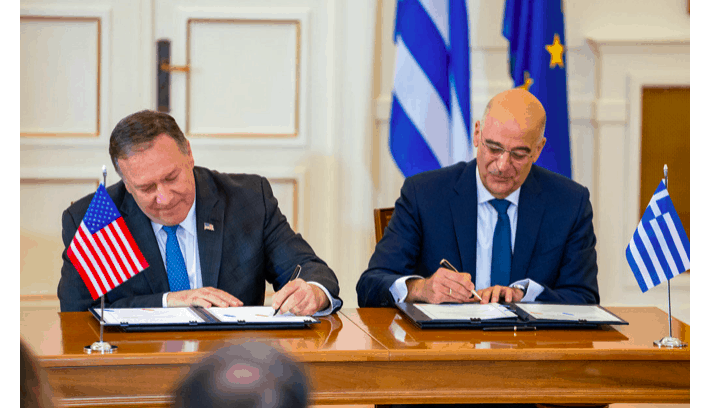 US signs extended Defense Agreement with Greece 1