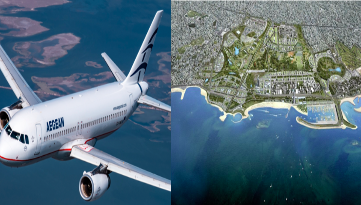 Aegean Airlines partners up with Athens' 8-billion-euro Hellinikon Project 3