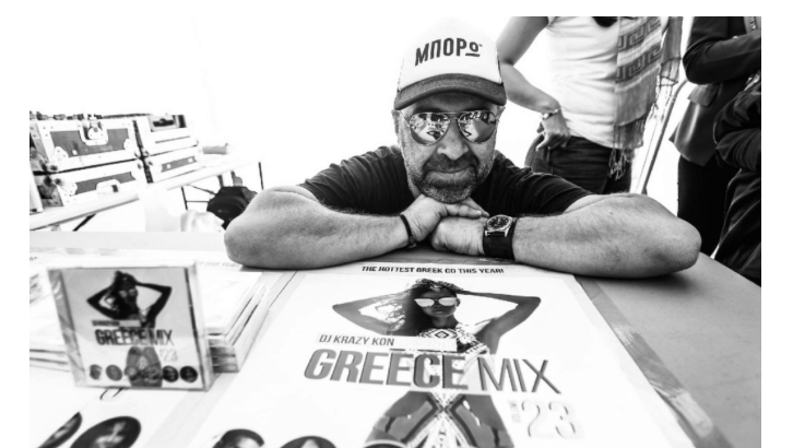DJ Krazy Kon releases 23rd album in iconic 'Greek' Mix series 18