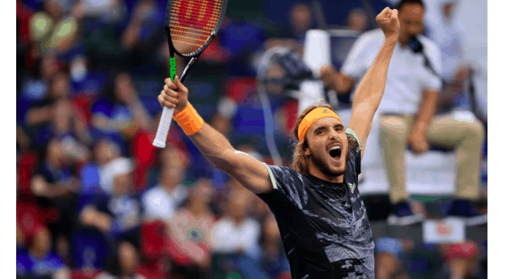 Greece's Tsitsipas beats world number one Djokovic to reach Shanghai Masters semis 11