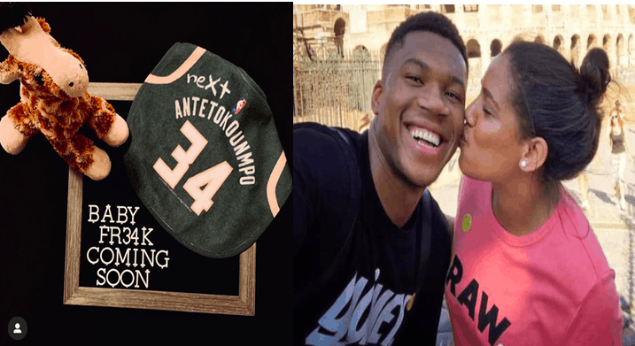 Baby 'Greek Freak' on its way as Giannis and Mariah announce they are expecting 11