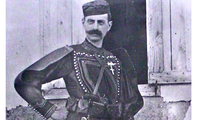On this day in 1904, one of Greece's greatest war heroes Pavlos Melas passes away 2