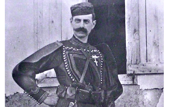 On this day in 1904, one of Greece's greatest war heroes Pavlos Melas passes away 40