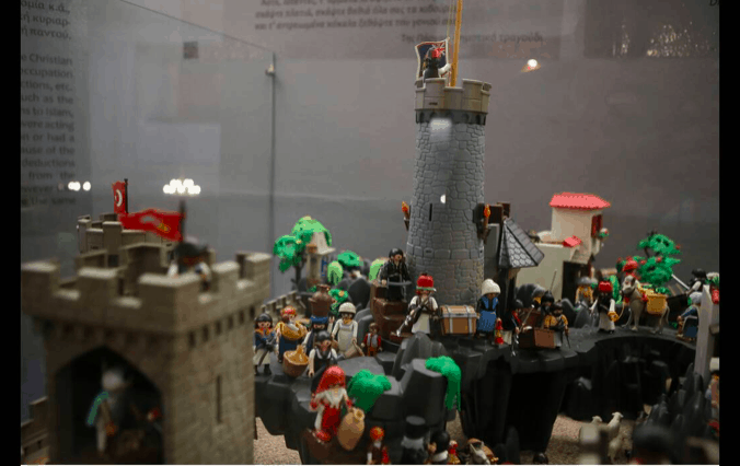 """Athens museum launches Playmobil """"Greek Revolution of 1821"""" exhibition 1"""
