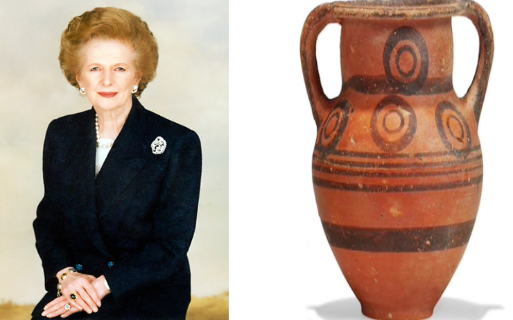 Cyprus stunned that vase given to the late PM Thatcher ended up at auction house 1