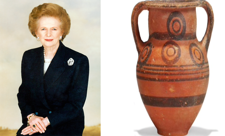 Cyprus stunned that vase given to the late PM Thatcher ended up at auction house 2