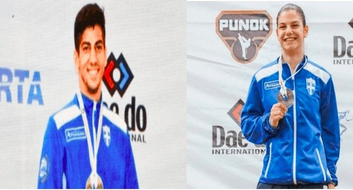 Greece Takes Home Gold and Silver at World Karate Championships 24