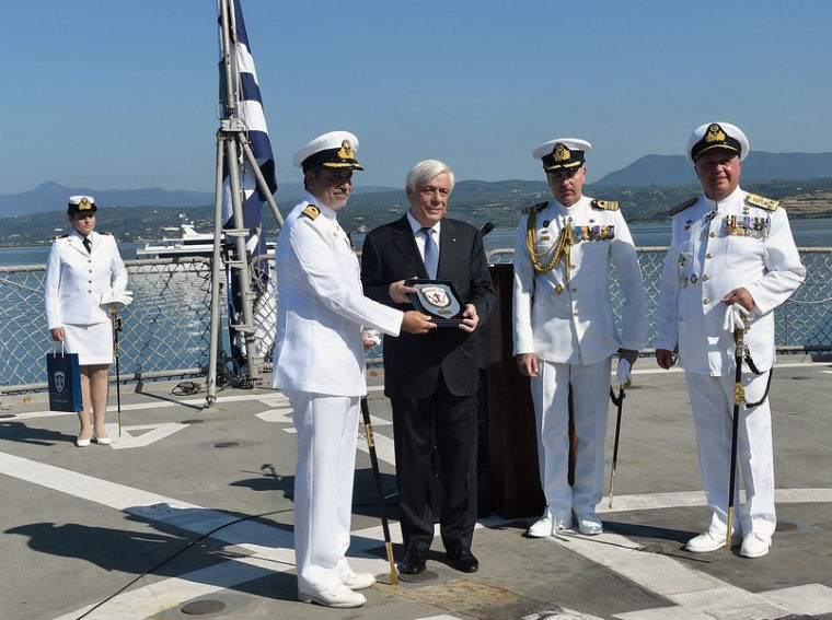 The President of the Hellenic Republic Prokopios Pavlopoulos