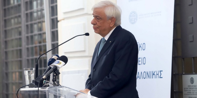 The President of the Hellenic Republic, Prokopis Pavlopoulos
