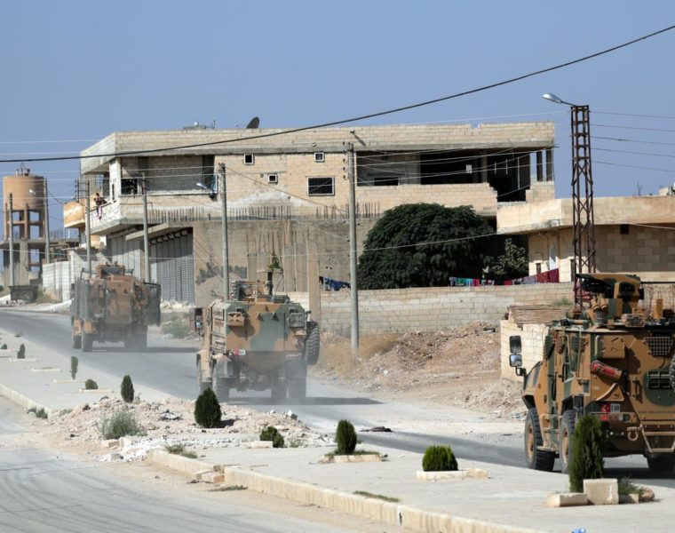 What does Turkey hope to achieve by its current policies in Syria? 19