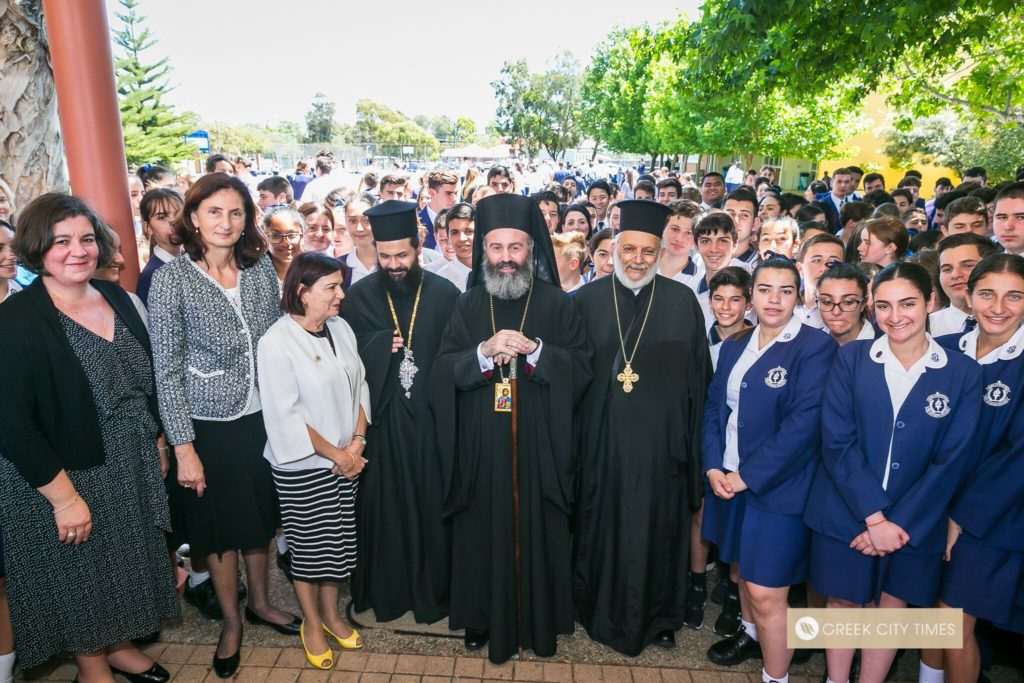 St Spyridon College Divine Liturgy celebrated by His Eminence Archbishop Makarios 35