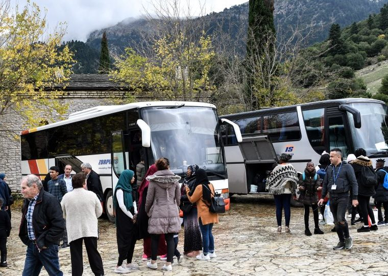 """Migrants leave Monastery accommodation in the Peloponnese saying conditions were """"not good"""" (VIDEO) 12"""