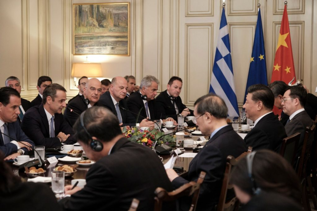 Greece and China sign 16 bilateral agreements during President Jinping's visit to Athens  2