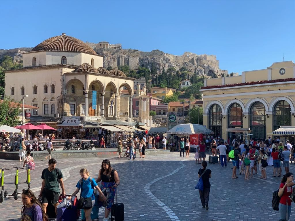 The Greek capital set to receive a 270 million euro makeover 1