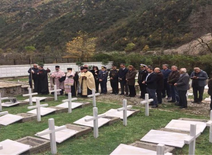 Orthodox burial given to 193 Greek soldiers in Albania who died during war in 1940 1