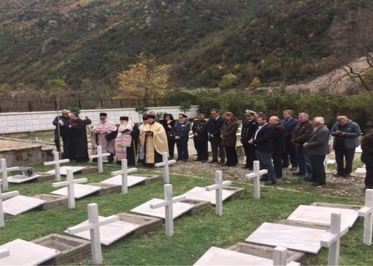 Orthodox burial given to 193 Greek soldiers in Albania who died during war in 1940 5