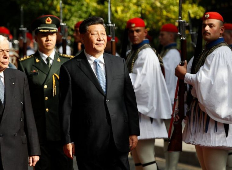 Greece and China sign 16 bilateral agreements during President Jinping's visit to Athens 14