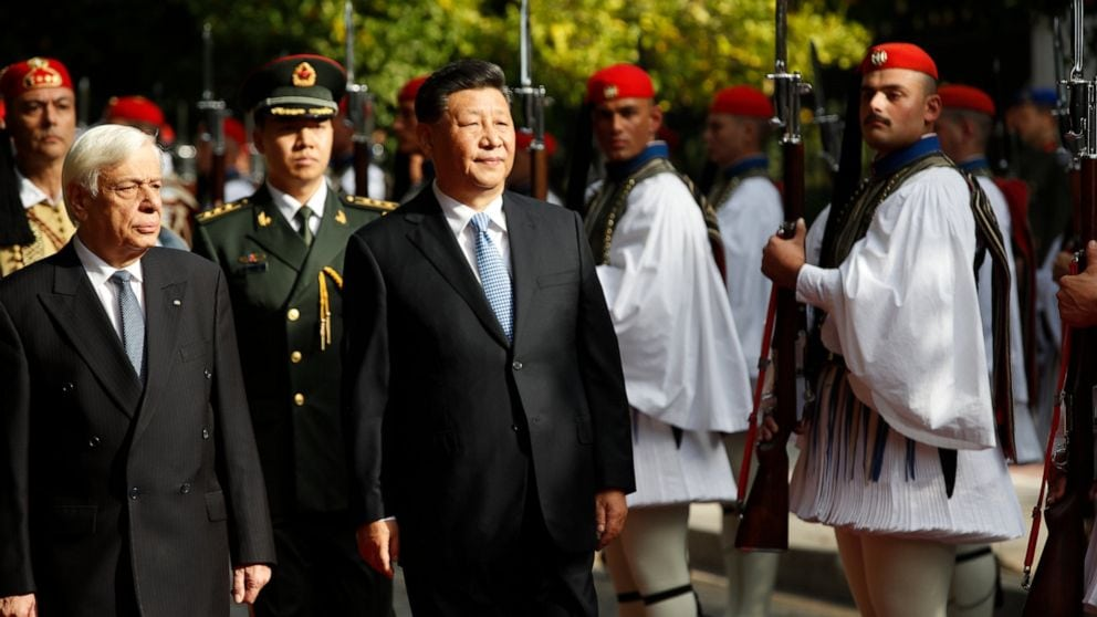 Greece and China sign 16 bilateral agreements during President Jinping's visit to Athens  6