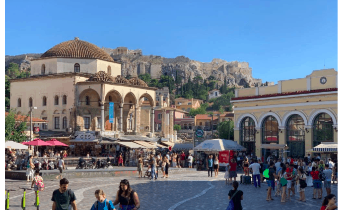 The Greek capital set to receive a 270 million euro makeover 9