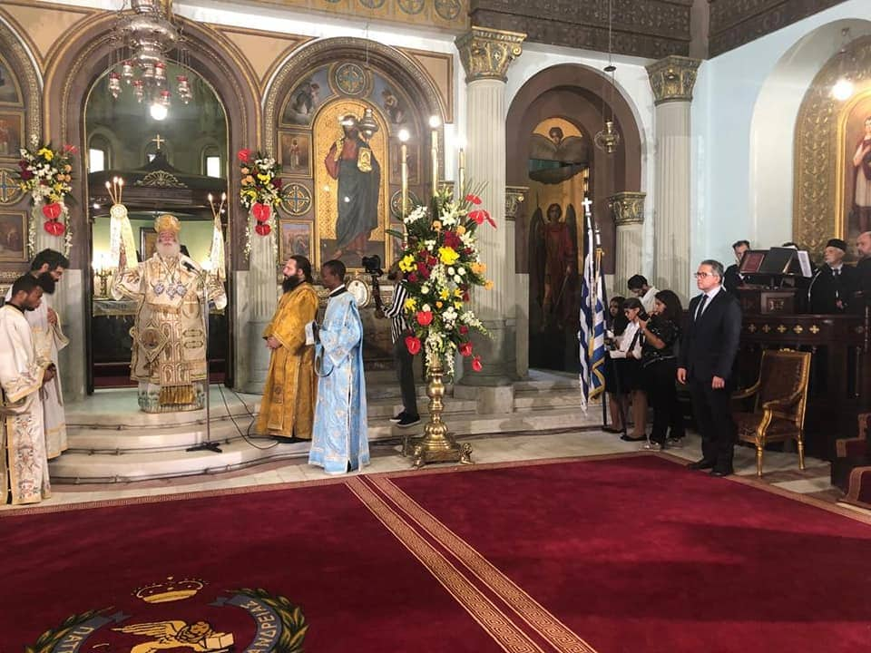 Historic Opening of Saints Constantine and Helen Church in Cairo 6