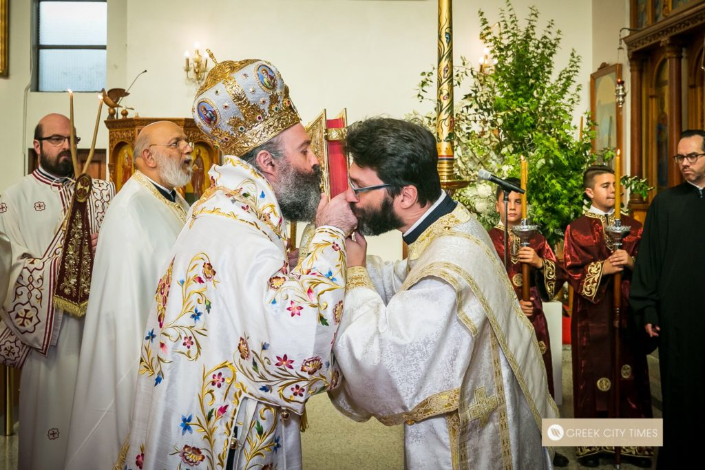 St Spyridon College Divine Liturgy celebrated by His Eminence Archbishop Makarios 26